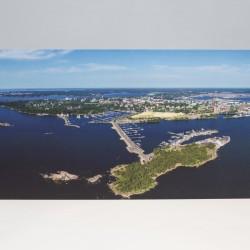 Kotka postikortti 10.5x21 cm