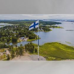 Suurlippu postikortti 10.5x21cm